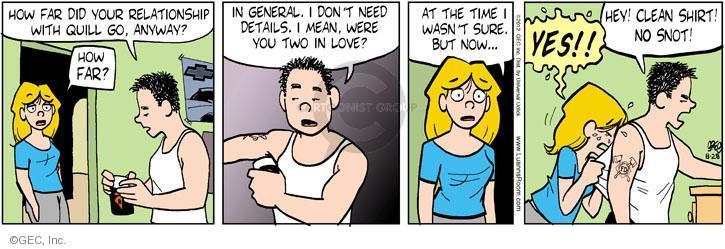 Comic Strip Greg Evans  Luann 2012-08-28 love