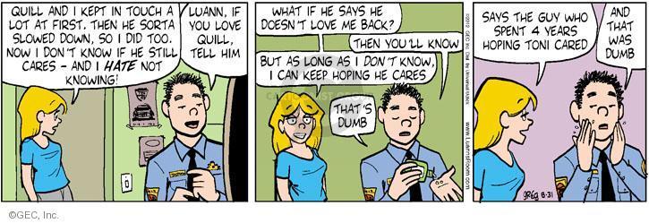 Comic Strip Greg Evans  Luann 2012-08-31 year