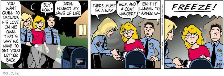 Comic Strip Greg Evans  Luann 2012-09-12 love