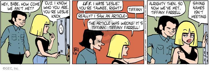 Cartoonist Greg Evans  Luann 2012-09-24 date