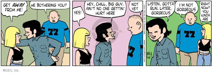 Comic Strip Greg Evans  Luann 2012-09-26 threaten