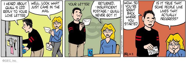 Comic Strip Greg Evans  Luann 2012-10-03 true