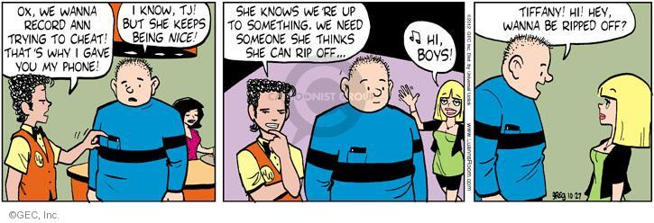 Comic Strip Greg Evans  Luann 2012-10-27 dining out