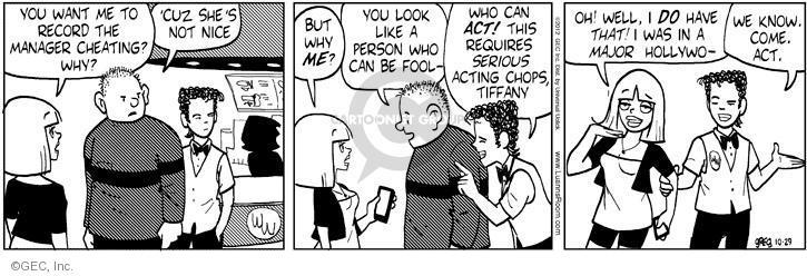 Comic Strip Greg Evans  Luann 2012-10-29 ego