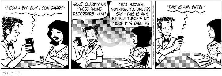 Cartoonist Greg Evans  Luann 2012-11-02 recorder