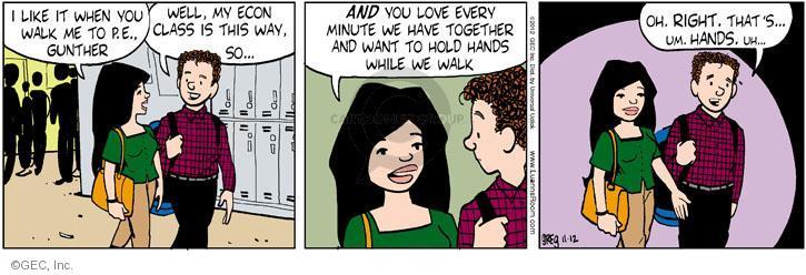 Comic Strip Greg Evans  Luann 2012-11-12 hold me
