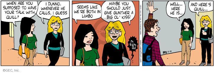 Comic Strip Greg Evans  Luann 2012-11-17 teen