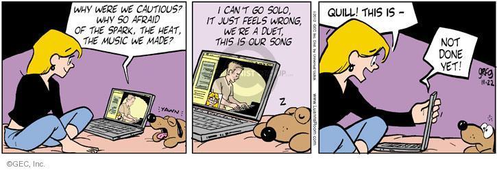 Comic Strip Greg Evans  Luann 2012-11-22 feel