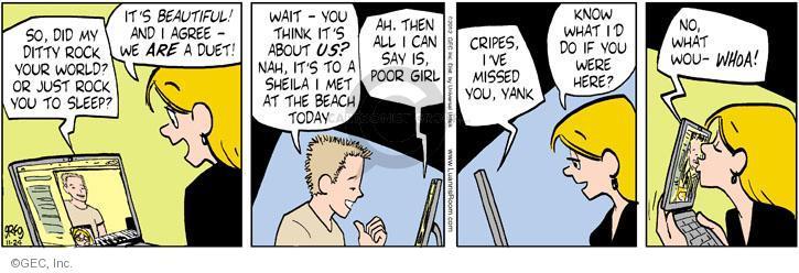 Comic Strip Greg Evans  Luann 2012-11-24 internet dating