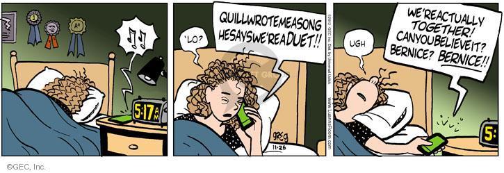 Comic Strip Greg Evans  Luann 2012-11-26 teen