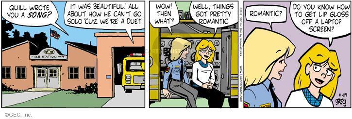 Comic Strip Greg Evans  Luann 2012-11-29 get well