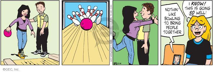 Comic Strip Greg Evans  Luann 2012-12-14 affection