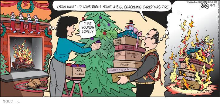 Comic Strip Greg Evans  Luann 2012-12-02 candy