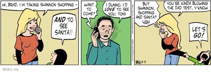 Comic Strip Greg Evans  Luann 2012-12-17 test take