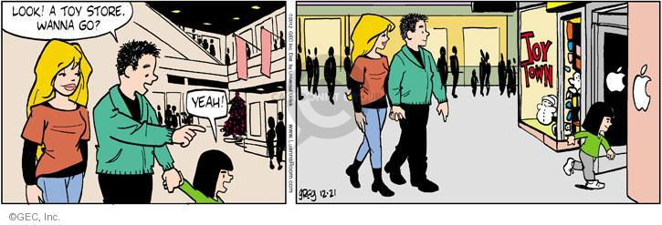 Comic Strip Greg Evans  Luann 2012-12-21 toy