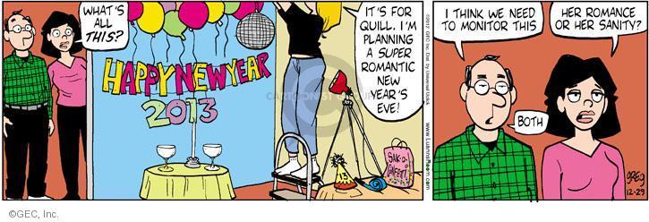 Comic Strip Greg Evans  Luann 2012-12-29 celebrate