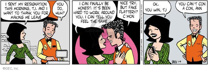 Comic Strip Greg Evans  Luann 2013-01-04 cell phone