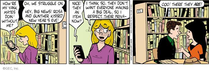 Cartoonist Greg Evans  Luann 2013-01-14 big date