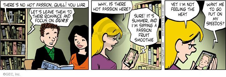 Comic Strip Greg Evans  Luann 2013-01-16 focus