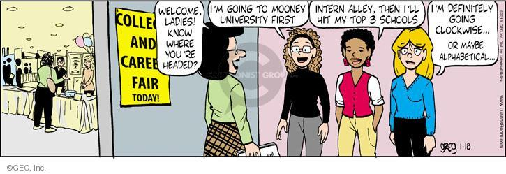 Comic Strip Greg Evans  Luann 2013-01-18 future