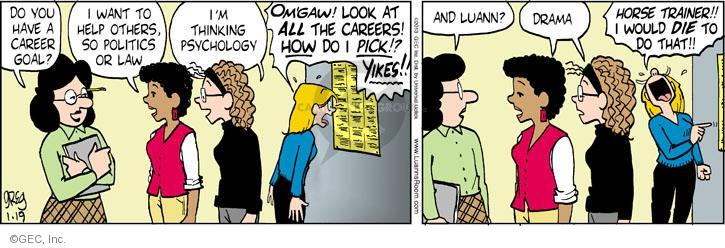 Comic Strip Greg Evans  Luann 2013-01-19 die