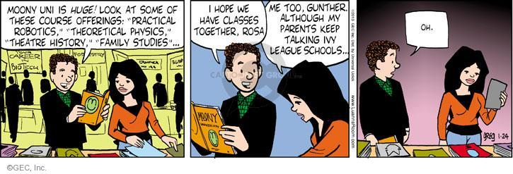 Comic Strip Greg Evans  Luann 2013-01-24 teen