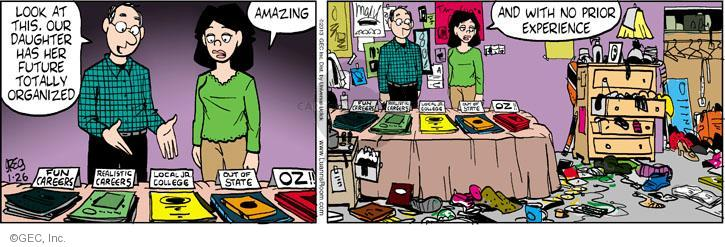 Comic Strip Greg Evans  Luann 2013-01-26 teen
