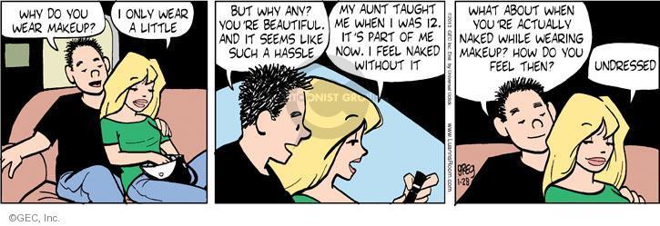 Comic Strip Greg Evans  Luann 2013-01-28 female