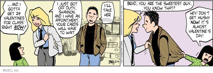 Comic Strip Greg Evans  Luann 2013-02-04 appointment