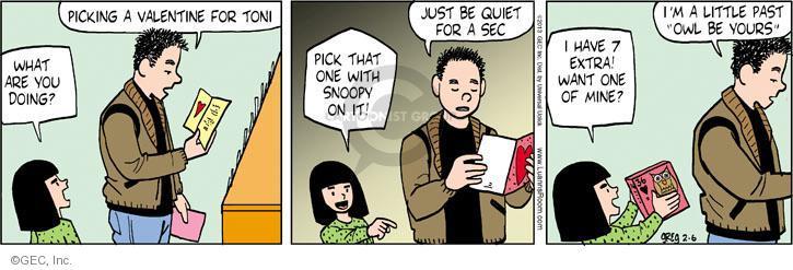 Comic Strip Greg Evans  Luann 2013-02-06 Toni