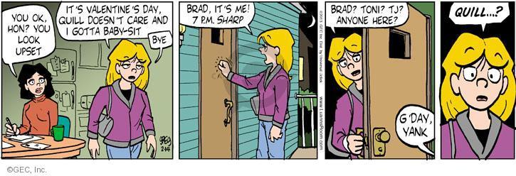 Comic Strip Greg Evans  Luann 2013-02-14 Toni