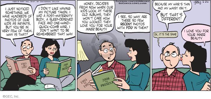 Comic Strip Greg Evans  Luann 2013-02-24 hundred