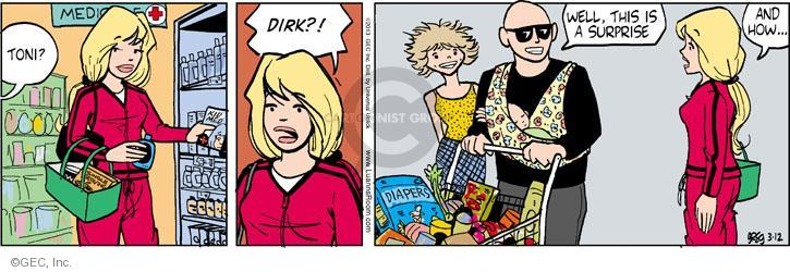 Comic Strip Greg Evans  Luann 2013-03-12 Dirk