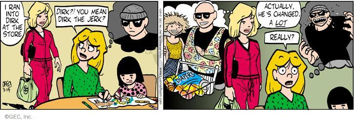 Comic Strip Greg Evans  Luann 2013-03-14 Dirk