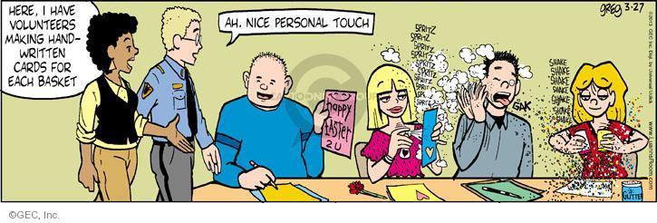 Comic Strip Greg Evans  Luann 2013-03-27 volunteer