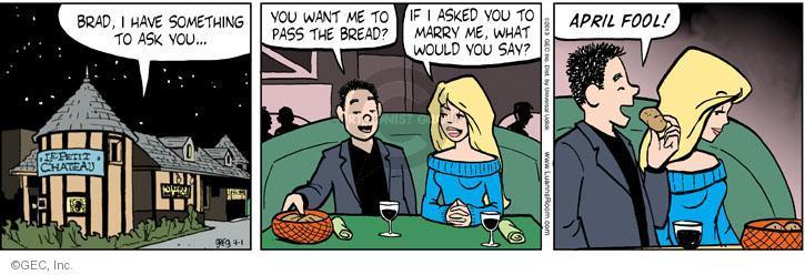 Comic Strip Greg Evans  Luann 2013-04-01 joke