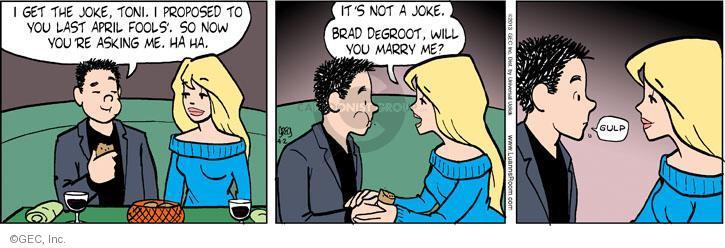 Comic Strip Greg Evans  Luann 2013-04-02 joke