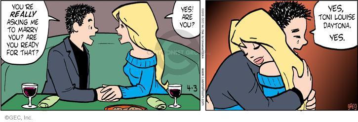 Comic Strip Greg Evans  Luann 2013-04-03 Toni