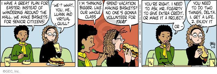 Comic Strip Greg Evans  Luann 2013-03-19 public
