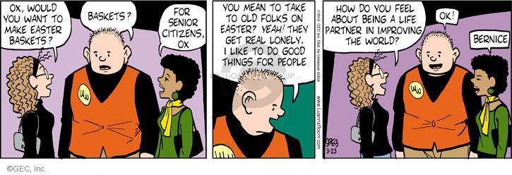 Comic Strip Greg Evans  Luann 2013-03-23 feel