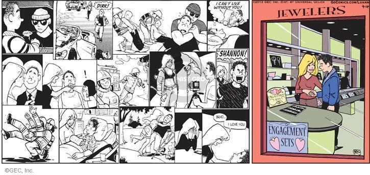 Cartoonist Greg Evans  Luann 2013-04-14 date
