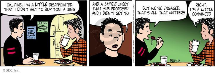 Comic Strip Greg Evans  Luann 2013-04-27 propose