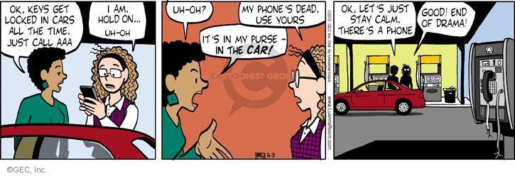 Comic Strip Greg Evans  Luann 2013-05-03 automobile