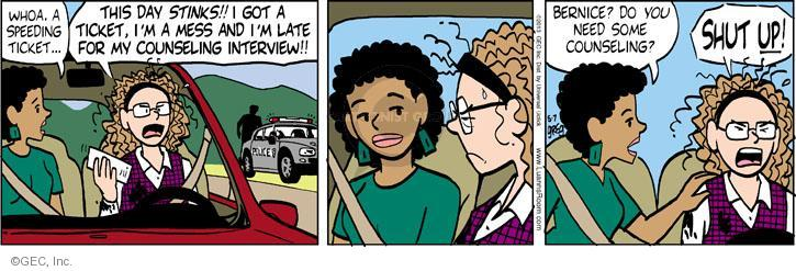 Comic Strip Greg Evans  Luann 2013-05-07 friendship