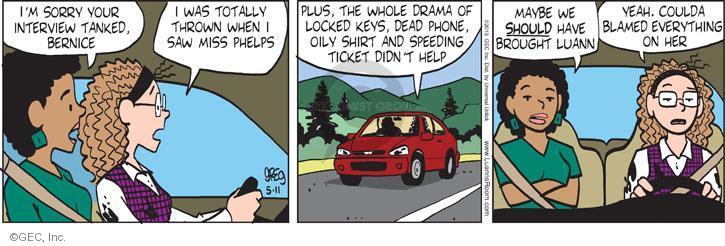 Comic Strip Greg Evans  Luann 2013-05-11 friendship