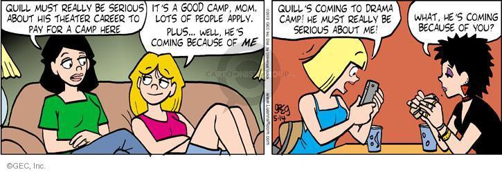 Comic Strip Greg Evans  Luann 2013-05-14 incentive