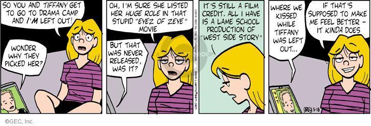 Comic Strip Greg Evans  Luann 2013-05-18 credit