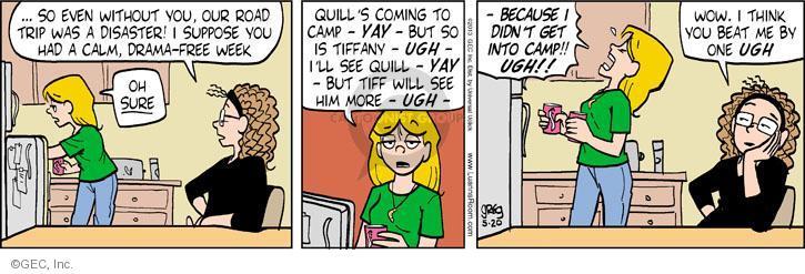 Comic Strip Greg Evans  Luann 2013-05-20 free will