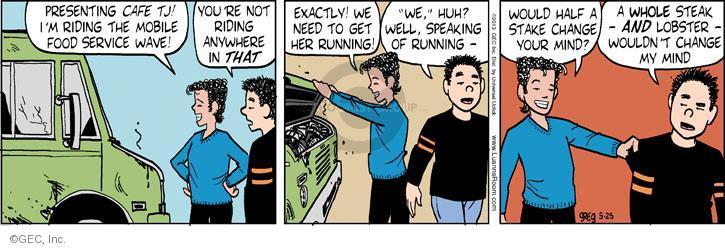 Comic Strip Greg Evans  Luann 2013-05-25 half
