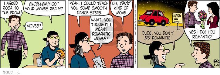 Cartoonist Greg Evans  Luann 2013-05-27 date
